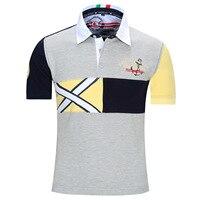 Fredd Marshall Polo Shirt Хлопок Размер Евро Мужские Polo Рубашки для Мужчин отложным Воротником Модельер Polo Майки Топы N09