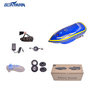 World cup big discount Boatman mini sonar fish finder bait boat for delivery fish hook