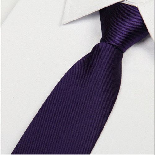 SHENNAIWEI 2019 New Items For Casual 8 Cm Ties Men Dark Purple Mens Neck Tie Gravata Masculina Atacado