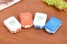 Folca Pill Portable Plastic Cases & Splitters Medicine Storage Boxes Pill Box Tablet Case Jewelry Case Organizer
