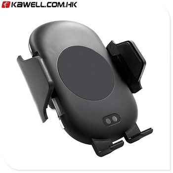 100 pcs a lot High quality Infrared Sensor Wireless Charger Car Holder for mobile phone QI 3.0 9V 1.67A