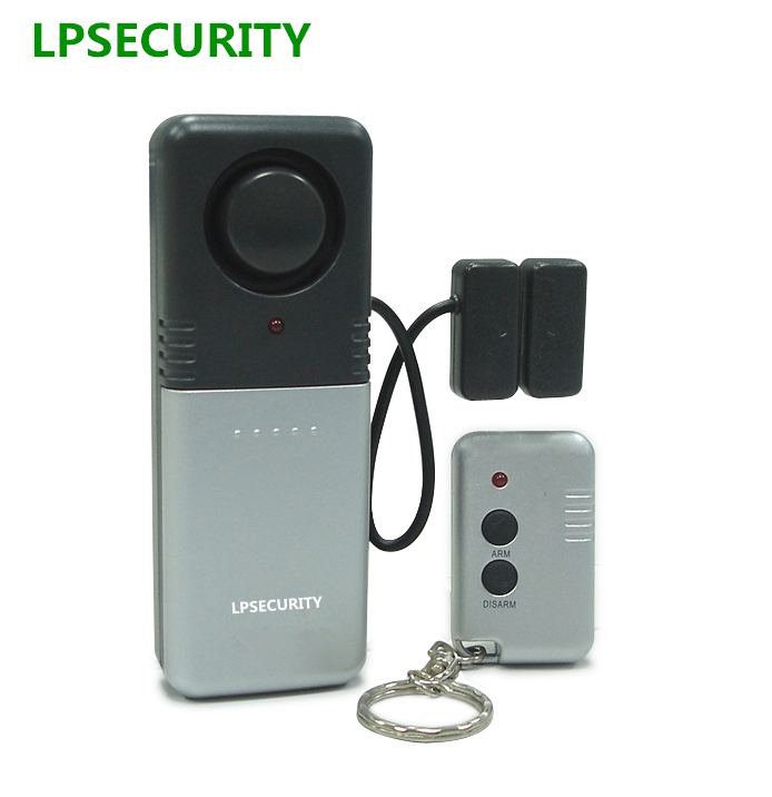 LPSECURITY Security Standalone Truck Tool Box Alarm with Remote Control/car vehicle window door gate alarm magnetic sensor