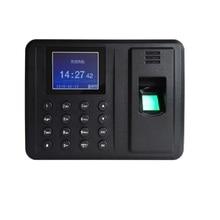 USB Download Biometric Fingerprint Employee Time Attendance Clock Recorder
