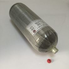 High Pressure 12L 4500 psi carbon fiber cylinder for paintball or air rifle refilling
