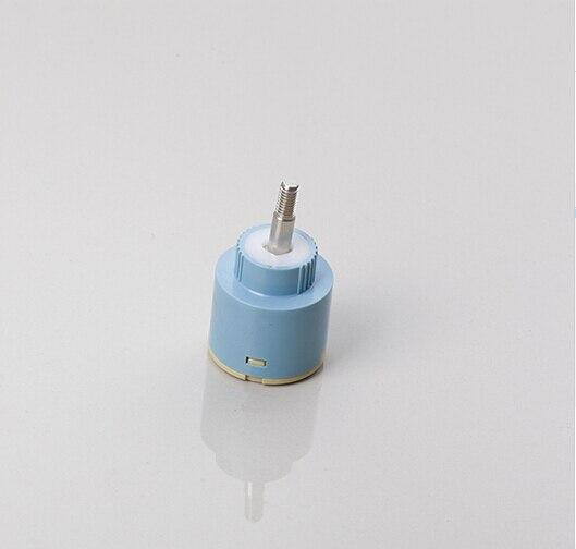 Parfait qualité supérieur Durable 35 mm 360 grau assiette en céramique Spool laiton levier Mixer robinet accessoires robinet cartouche
