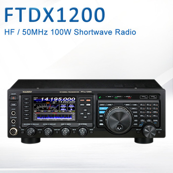 YAESU FTDX1200 krótkofalówka HF/50 MHz 100W 160 do 6m fala-ssb/CW/FM/AM/RTTY/PSK przenośny do samochodu nadajnik-odbiornik radiowy