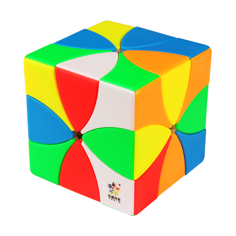 Newest Yuxin Eight Petals Magnetic Magic Cube Puzzle Stickerless Professional Educational Puzzle Gift Idea Cubo Magico Kid Toys