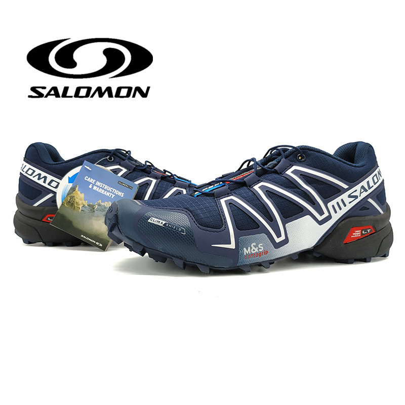 Salomon Chaussures Hommes Chaussures de Course Speed Cross 3 CS III En Plein Air Chaussures Respirant Zapatillas Dentelle-up Hombre Clôtures Sneaker
