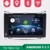 Wholesales! Android 7.1.1 9 Inch Car DVD Player For Mercedes/Benz/Sprinter/B200/B class/W245/B170/W209/W169 Wifi GPS Radio