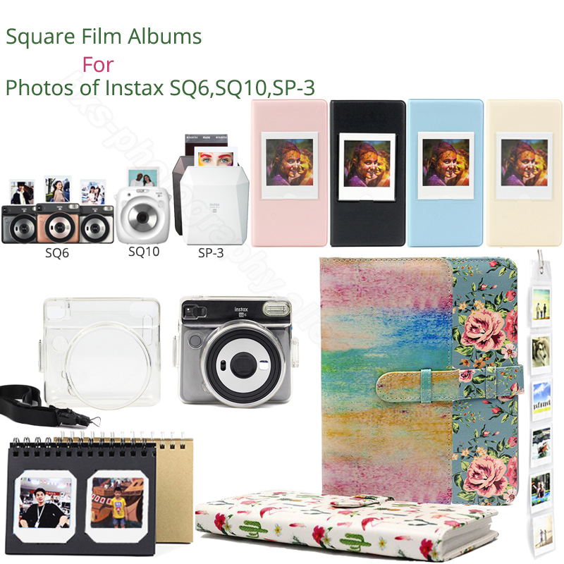 Plaza álbumes para Fujifilm Instax Plaza papel de borde para Fujifilm Instax Plaza SQ6 SQ10 Cámara Instax Share SP-3 impresora