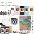 Чехол с квадратными альбомами для Fujifilm Instax Square Edge Paper для Fujifilm Instax Square SQ6 SQ10 Camera, Instax Share SP-3 Printer