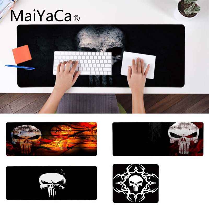 MaiYaCa  The Punisher skull Silicone Pad to Mouse Game Anti-Slip Durable Silicone Computermats