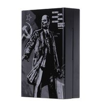 Cigarette-Case Stalin/trump Portable Union Laser Carved Will Soviet Not-Fade Aluminium-Alloy