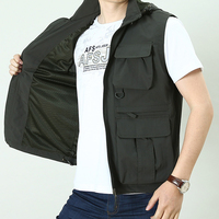 GLEEGLING M 4XL Korean Fishing Vest Quick Dry Sports Fish Vest Breathable Windproof Fly Fishing Vests Fish Jacket