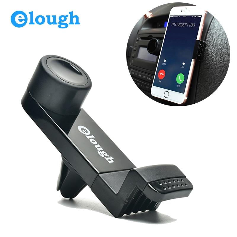 Elough Car Phone Holder For iPhone 6 Samsung Mobile Phone Holder 360 Adjustable Air Vent Holder Stand Car Holder For iPhone 6S 5