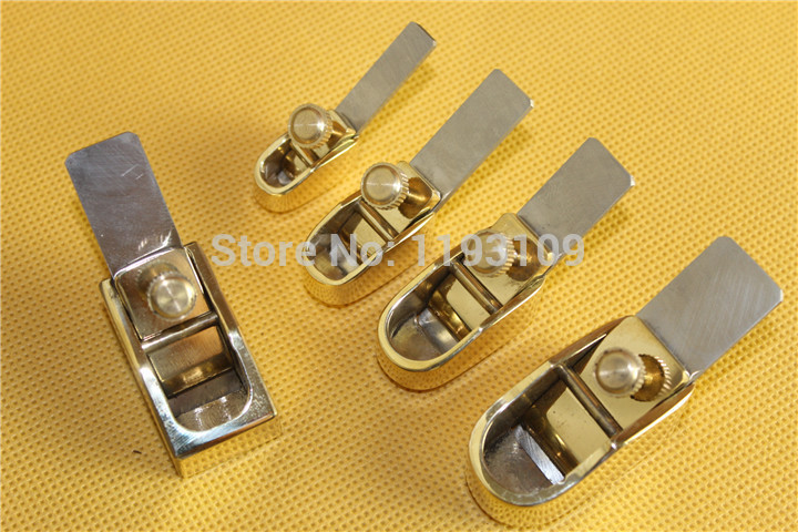 5 pcs various size mini brass planes Violin Cello making tools Copper Metal