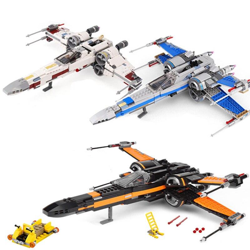 Nouveau X Wing Star Fighter blocs de construction compatibles Star Plan Wars bâtiment jouets éducatifs pour enfants