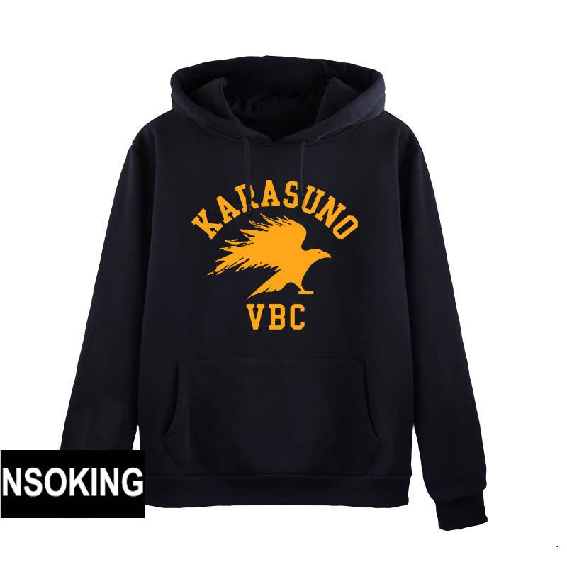 Anime Haikyuu Hoodie kageyama tobio Hinata Syouyo  hoodie Coat fall Winter Men Women Sweatshirts
