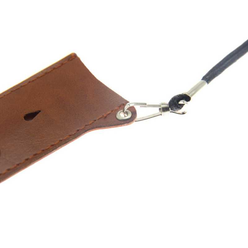 コイル父革ネックポーチポケット RELX 用/MYLE/Smok Nord 小さなポッド吸う電子タバコ