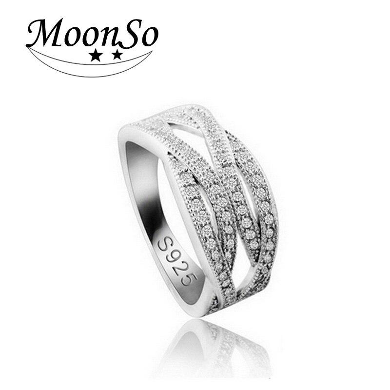 Aliexpresscom Buy Moonso Vintage Fashion Rings For Women