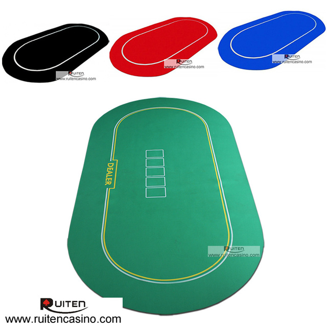 1pc 3672inch sure stick oval poker table top rubber foam mat with 1pc 3672inch sure stick oval poker table top rubber foam mat with black ccuart Choice Image
