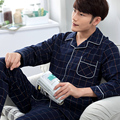 2017 Male Sleepwear Spring And Autumn 100% Cotton Long-sleeve Sleepwear Casual Spring And Summer Men Lounge Set Plus Size