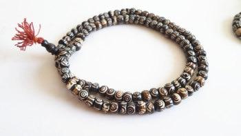Bracelet Tibetain Bois Homme