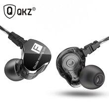 הכי חדש QKZ CK9 כפול יחידת כונן באוזן אוזניות בס סאב אוזניות HIFI DJ בקרת תהליך ריצת ספורט אוזניות אוזניות Earbud