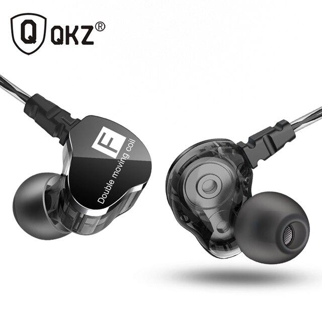 أحدث QKZ CK9 وحدة مزدوجة محرك في الأذن سماعة باس مضخم صوت سماعة HIFI DJ Monito تشغيل سماعة أذن تستخدم عند ممارسة الرياضة سماعة أذن
