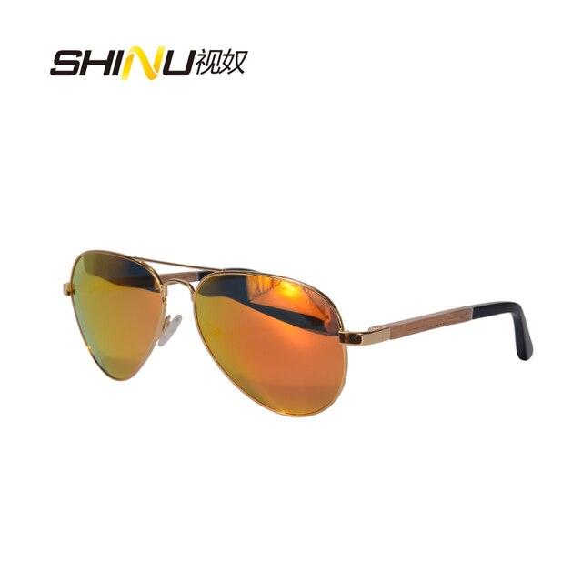 ef53c294845492 Hoge Kwaliteit Gepolariseerde Rijden Zonnebril Mannen Vrouwen Vintage Retro  Spiegel Coating Glazen Hout Benen Zonnebril Oculos