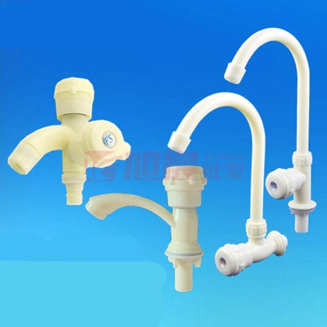 Plastic Faucet Pp Abs Basin Tap Sink Bib Kitchen