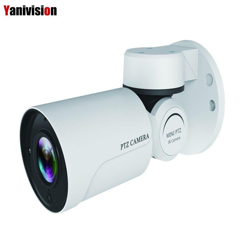 Yanivision IP PTZ Bullet Camera 1080P Full HD 4X Optical Zoom IP66 Waterproof  IR Night Vision IP Camera Mini Outdoor PTZ ONVIF