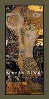 Envío gratis la lona reproducción de la pintura al óleo de Gustav Klimt bella arte para sala de estar sin camilla / marco