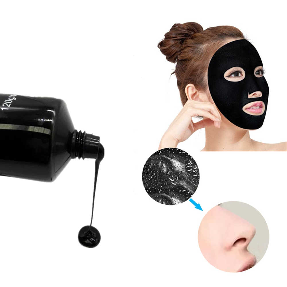 DISAAR Bamboo charcoal Repaip Brightening Face Mask Whitening Pore cleaning Anti Aging Skin Care Wrapped Mask Peel off