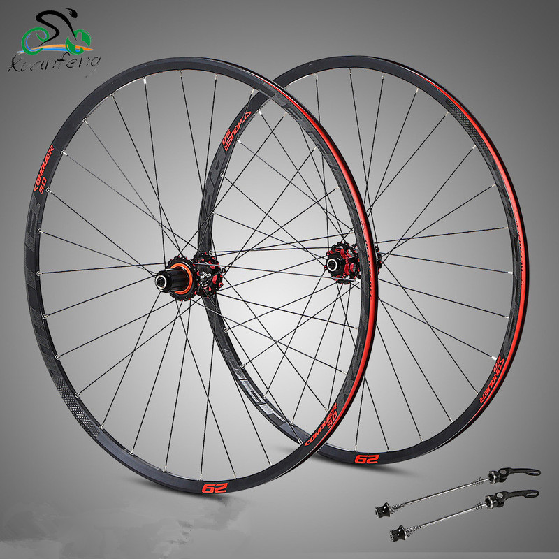 27 5 29inch MTB Mountain Bike Bicycle Wheel Aluminium alloy CNC carbon 4bearing hub ultra light