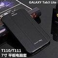 Планшет Чехол для Samsung GALAXY Tab 3 Lite 7.0 T110 T111 ПУ кожа защитной оболочки для защиты бизнес-книга + freeshipping