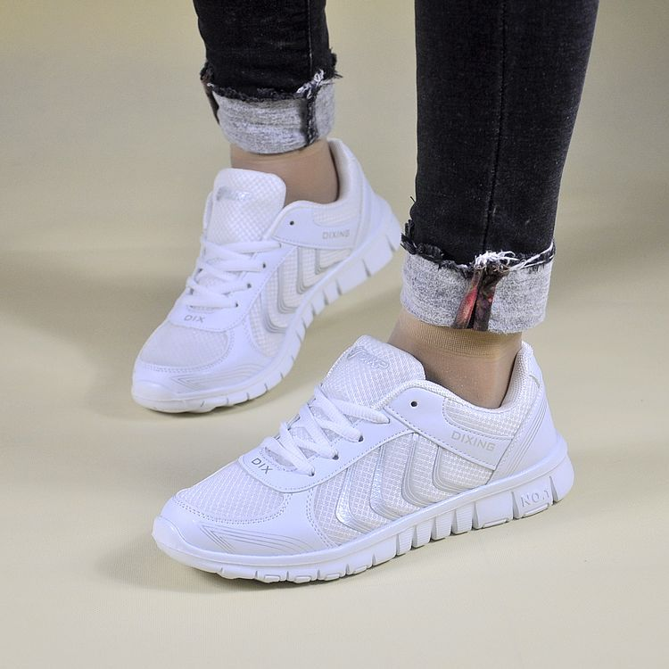 Running Shoes for Women Air Mesh Breathable Summer Outdoor Sport Athletic Sneakers Lace-up 2018 Summer Men Running Sport Shoes swyivy women sports shoes anti slip thick sole running shoes 2018 summer mesh breathable lace up female sneakers comfortable