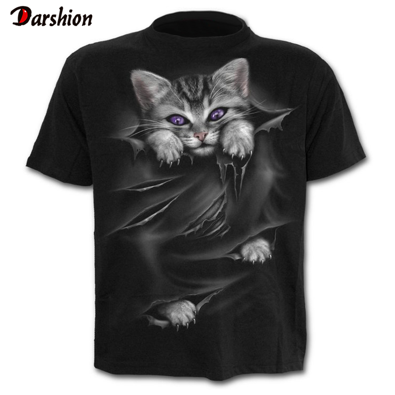 Newest Cat 3D Printed   T  -  shirt   Casual Short Sleeve O-Neck Fashion Printed 3D   t     shirt   Men/Women Tees High Quality tshirt Hombre