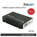 Acessível HDMI codificador Pro para IPTV broadcasting webcasting HD 1080 P 60fps apoio wowza, Akamai CDN