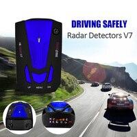 Samochodów detektor V7 360 Stopni Wykrywanie Voice Alert Samochodów Radiolokacja anty Angielski Voice dla Samochodów Prędkość Ograniczona hot sprzedaż