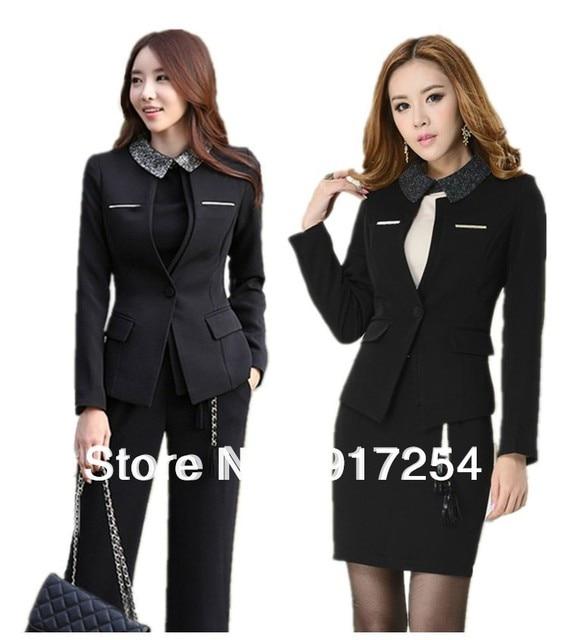 Большой размер 4XL профессиональный деловых женщин рабочая одежда блейзер костюмы единая карьера костюмы размер S-XXXXL