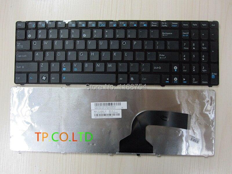 Brand New US keyboard FoR ASUS G60 K52 G51 G53 N61 U50 X61 G60J G60V G60JX G60VX Us version BLACK