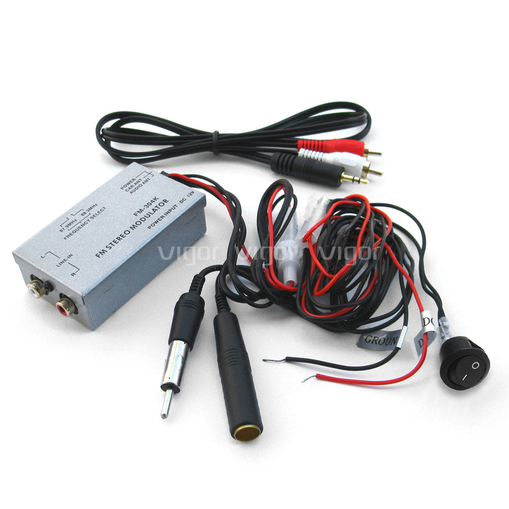 Car Factory Radio Stereo Auxillary AUX RCA Audio Input Adapter Wired ...