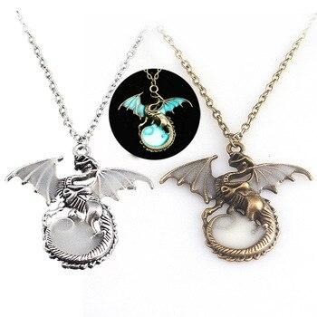 Кулон с драконом Игра Престолов