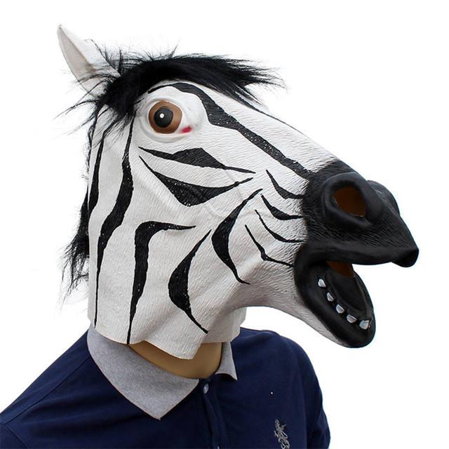Halloween Zebra Mask