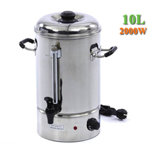 10 Litre Stainless Steel Design Kitchen Electric Hot Water Boiler Urn Kettle Hot Water Dispenser