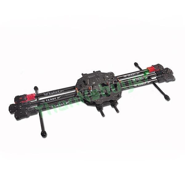 Tarot fy690s 3k fibra de carbono 6 axis hexacopter tl68c01