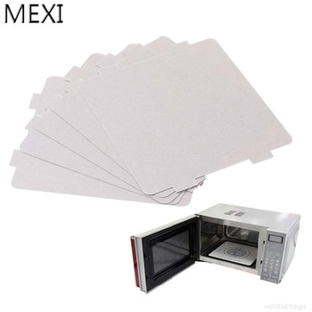 MEXI 5Pcs Mica Plates Sheets Microwave Oven Repairing Part 108x99mm Kitchen For Midea Series mexi 2 pcs 13 x 13cm microwave oven mica sheets repairing accessory plates sheets