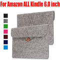 30X Sheep PU Leather Ereader bag Sleeve For Kindle oasis voyage paperwhite touch cover case for Amazon ALL Kindle 6.0 inch KO3