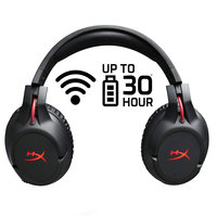 HyperX New Arrival 2018 Wireless Earphones Cloud Flight Headset 30Hour Battery Life for PS4 PC mp3 Gaming Computer Headphones
